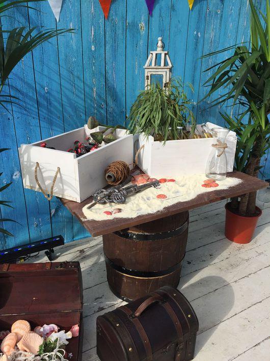 Свадебные цветы ручной работы. Ярмарка Мастеров - ручная работа. Купить Ящик деревянный в аренду. Handmade. Декор в аренду