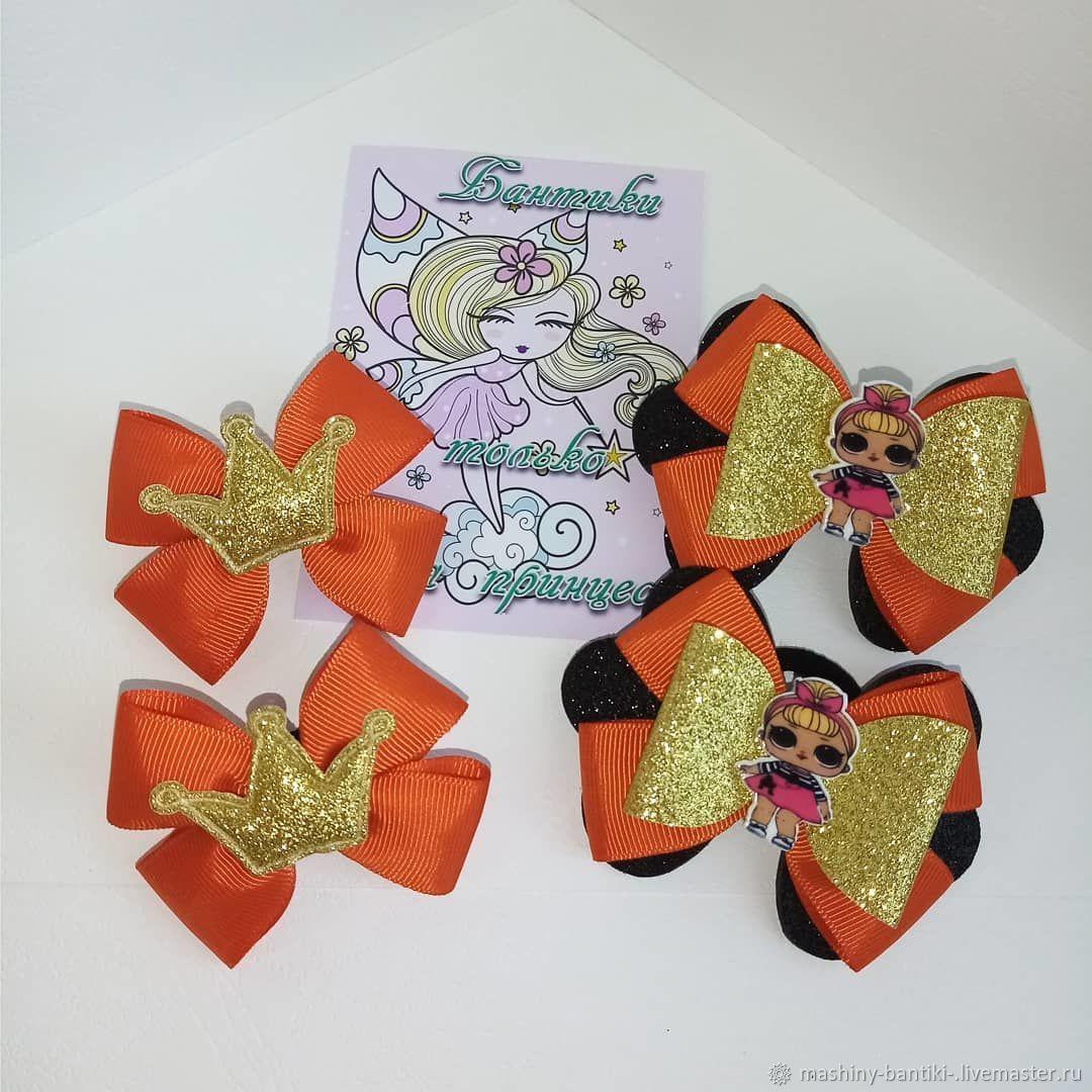 Бантики, набор для девочки, Резинка для волос, Хабаровск,  Фото №1