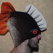 Одежда ручной работы. Ярмарка Мастеров - ручная работа Банная шляпа. Handmade.
