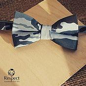Аксессуары handmade. Livemaster - original item Tie Military / gift man on February 23, camouflage. Handmade.
