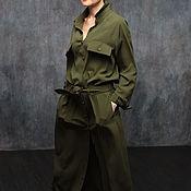 """Одежда ручной работы. Ярмарка Мастеров - ручная работа Платье """"Милитари"""". Handmade."""
