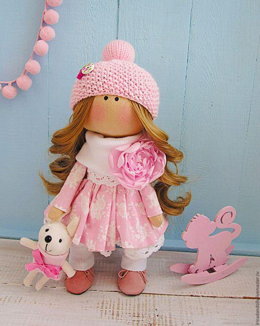 Коллекционные куклы ручной работы. Ярмарка Мастеров - ручная работа. Купить Златовласая зефирка. Handmade. Бледно-розовый, коллекционная кукла