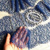 Материалы для творчества ручной работы. Ярмарка Мастеров - ручная работа Цена за 3,15м Кружево реснички 151 кружево с ресничками, шантильи. Handmade.