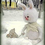 Куклы и игрушки ручной работы. Ярмарка Мастеров - ручная работа Зайка -мама.. Handmade.