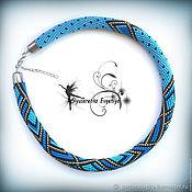 Украшения handmade. Livemaster - original item The wiring of beads
