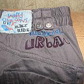 Винтаж handmade. Livemaster - original item Vintage clothing: Grey pants jeans for boy size 98. Handmade.