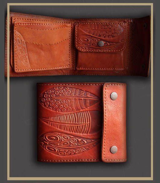 Кошельки и визитницы ручной работы. Ярмарка Мастеров - ручная работа. Купить портмоне (кошелёк ) 0745. Handmade. Разноцветный