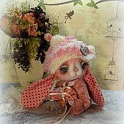 Куклы и игрушки ручной работы. Ярмарка Мастеров - ручная работа Зайка Фло Игрушка Тедди. Handmade.