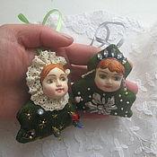 Подарки к праздникам ручной работы. Ярмарка Мастеров - ручная работа Елочки - малышки. Handmade.