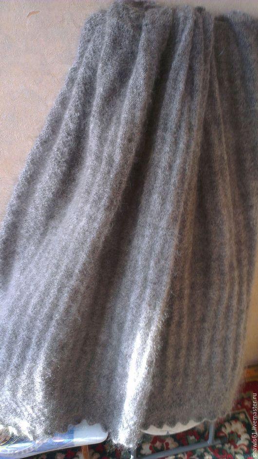 Шали, палантины ручной работы. Ярмарка Мастеров - ручная работа. Купить ПУХОВЫЙ  платок. Handmade. Пуховые изделия, подарок маме