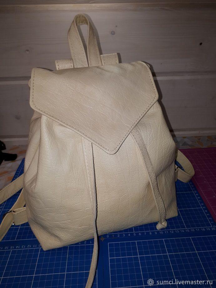 Leather backpack MODEL 3, Backpacks, Zvenigorod,  Фото №1