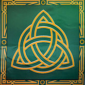 Фен-шуй и эзотерика handmade. Livemaster - original item The RUNIC altar cloth, printing on fabric.. Handmade.