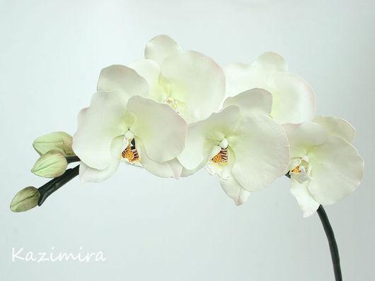 Интерьерные композиции ручной работы. Ярмарка Мастеров - ручная работа. Купить Ветка орхидеи фаленопсис. Handmade. Орхидея фаленопсис