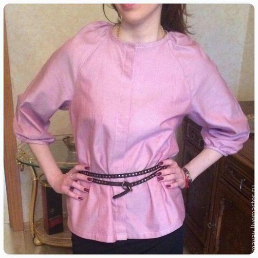 Блузки ручной работы. Ярмарка Мастеров - ручная работа. Купить Блуза. Handmade. Ярко-красный
