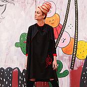 Одежда handmade. Livemaster - original item Black linen suit