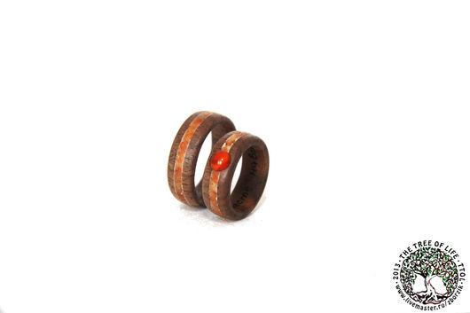 Кольца ручной работы. Ярмарка Мастеров - ручная работа. Купить Деревянные кольца. Handmade. Кольцо из дерева, годовщина свадьбы, дерево