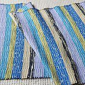 Для дома и интерьера ручной работы. Ярмарка Мастеров - ручная работа Половик ручного ткачества (№ 136). Handmade.