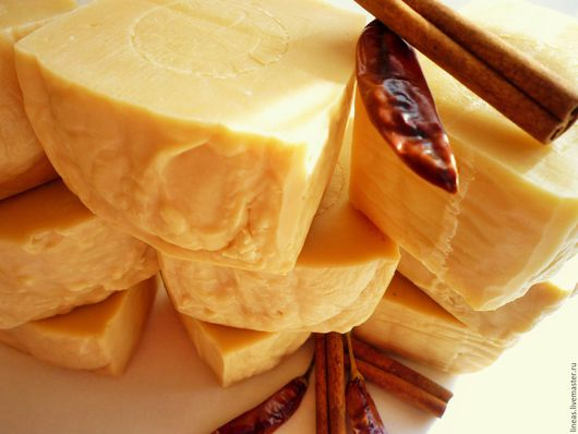 """Мыло ручной работы. Ярмарка Мастеров - ручная работа. Купить """"Медовая коврижка"""" натуральное молочное мыло с прополисом. Handmade."""