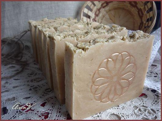 """Мыло ручной работы. Ярмарка Мастеров - ручная работа. Купить """"ДЕРЕВЕНСКОЕ"""" взбитое, на козьем молоке. Натуральное мыло с нуля. Handmade."""