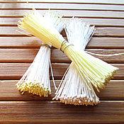 Тычинки ручной работы. Ярмарка Мастеров - ручная работа Японские тычинки Extra Small, крохотные, белые, желтые. Handmade.