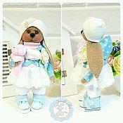"""Куклы и игрушки ручной работы. Ярмарка Мастеров - ручная работа Зайка текстильная """"Молли"""". Handmade."""