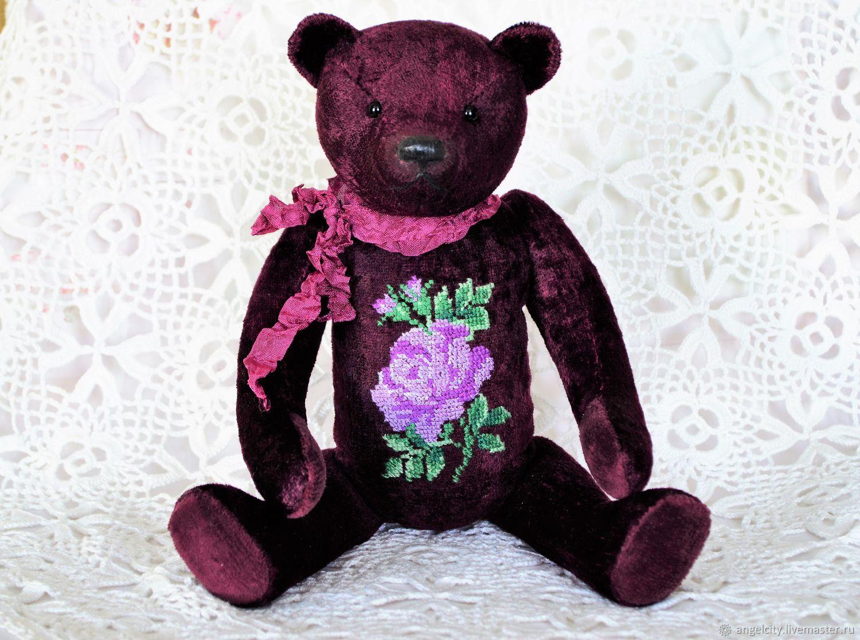 NOVALIS with embroidery retro style, Teddy Bears, Samara,  Фото №1
