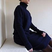 Одежда ручной работы. Ярмарка Мастеров - ручная работа Платье свитер.. Handmade.