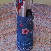 """Для дома и интерьера ручной работы. Ярмарка Мастеров - ручная работа Ваза """"Храним красиво"""". Handmade."""