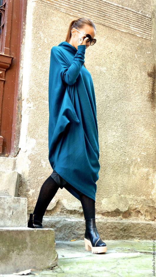 Платье, удобное платье, платье на каждый день, теплое платье, шерстяное платье, стильное платье,длинное платье, универсальное платье, модное платье, теплое платье, платье с рукавами
