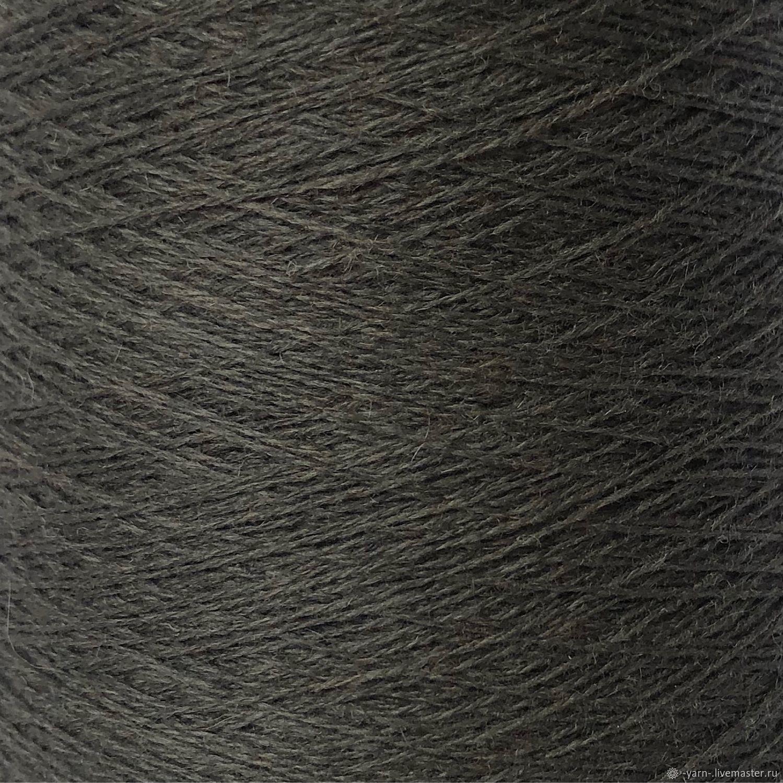 Пряжа Кашемир 2/28 коричнево-болотный – купить на Ярмарке Мастеров – M42OURU | Пряжа, Санкт-Петербург