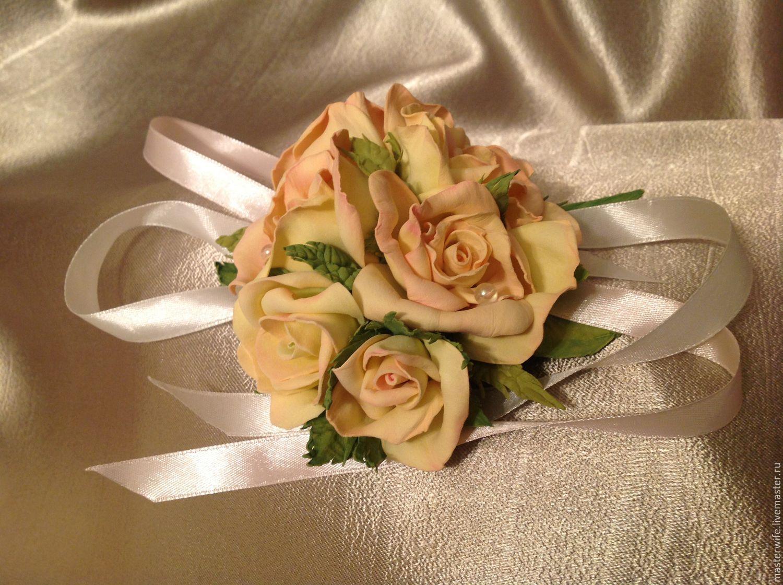 """Браслет """"Чайные розы"""""""