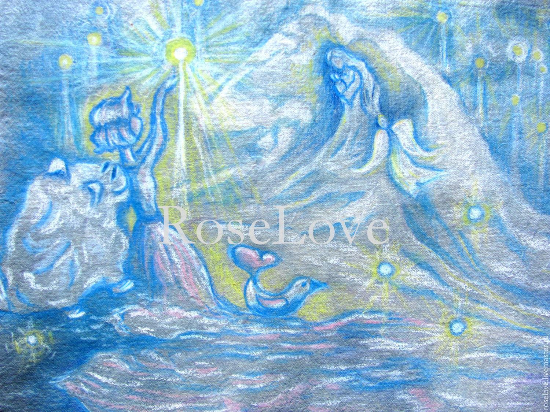 Картина для детской «Ловить звезды с небес.», Картины, Москва, Фото №1