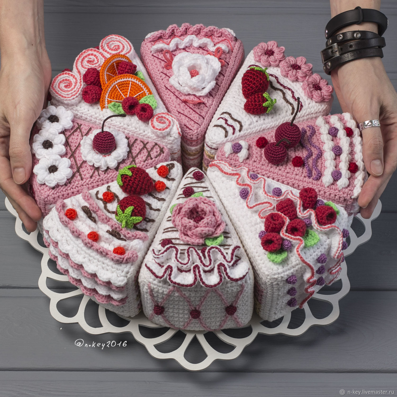 Купить Мастер-класс по вязанию торта крючком в интернет ...