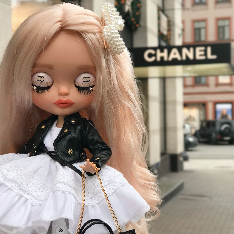 Кукла блайз blythe Шанель( Chanel), Шарнирная кукла, Санкт-Петербург,  Фото №1