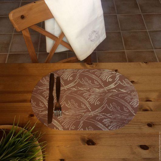 """Кухня ручной работы. Ярмарка Мастеров - ручная работа. Купить Подставка для тарелок """"Фон"""". Handmade. Подставка под горячее, для стола"""