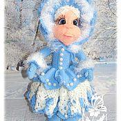 Материалы для кукол и игрушек ручной работы. Ярмарка Мастеров - ручная работа МК Снежинка Снежанка. Handmade.