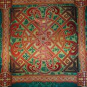 Фен-шуй и эзотерика handmade. Livemaster - original item Handkerchief Celtic pattern. Handmade.