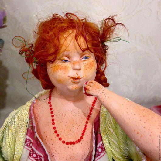 Коллекционные куклы ручной работы. Ярмарка Мастеров - ручная работа. Купить Яблочный Спас 2. Handmade. Авторская кукла