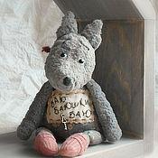 Куклы и игрушки ручной работы. Ярмарка Мастеров - ручная работа Серенький волчок. Handmade.