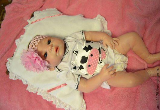 Малышка реборн кукла реборн девочка