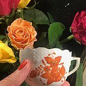 Винтаж handmade. Livemaster - original item Herend coffee Cup, Hungary, antique.. Handmade.