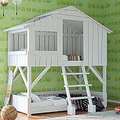 Для дома и интерьера ручной работы. Ярмарка Мастеров - ручная работа №10. Кроватка из дерева. Handmade.