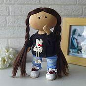 Куклы и игрушки handmade. Livemaster - original item Doll games. Doll textile interior. Doll Tilda. Handmade.