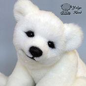 Куклы и игрушки ручной работы. Ярмарка Мастеров - ручная работа Nanook полярный медвежонок. Handmade.