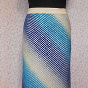 Одежда ручной работы. Ярмарка Мастеров - ручная работа Юбка вязаная длинная 2. Handmade.