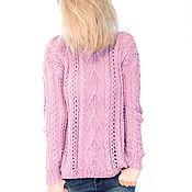 "Одежда handmade. Livemaster - original item Knitted sweater ""Watercolor"". Handmade."