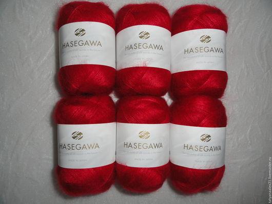 Вязание ручной работы. Ярмарка Мастеров - ручная работа. Купить Пряжа Hasegawa Seika №  32 TOMATO PUREE. Handmade.