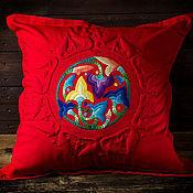 Для дома и интерьера ручной работы. Ярмарка Мастеров - ручная работа Красный сад. Handmade.