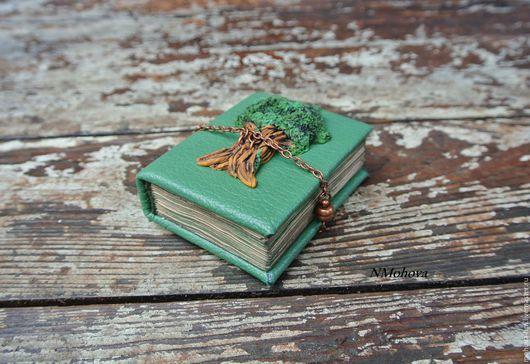 Блокноты ручной работы. Ярмарка Мастеров - ручная работа. Купить Блокнот. Handmade. Зеленый, зеленый цвет