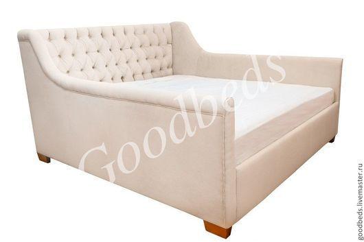 Мебель ручной работы. Ярмарка Мастеров - ручная работа. Купить Уютная Кровать(180). Handmade. Бежевый, мебель ручной работы